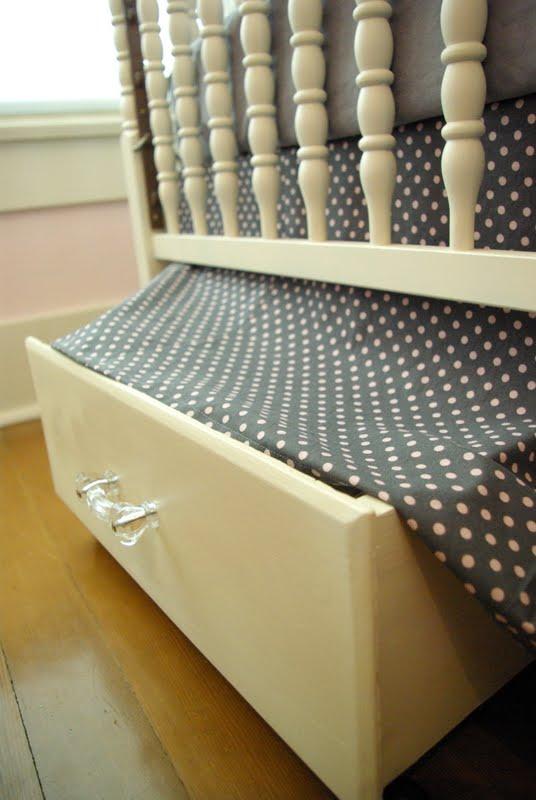 Under Bed (or Crib) Storage
