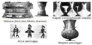 Ciri ciri Zaman Logam, Perunggu, Besi dan Batu