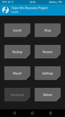 TWRP Xiaomi Redmi Mi4i
