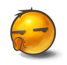 Whispering Emoticon | Symbols & Emoticons