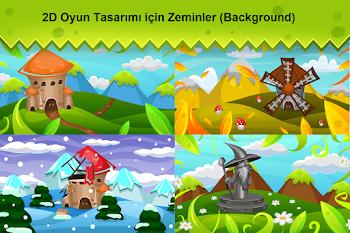2D Oyun Tasarım Background-3