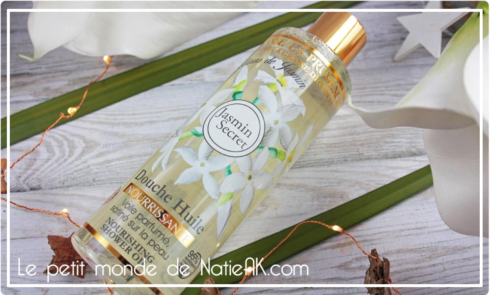 Douche  huile nourrissante de Jeanne en Provence