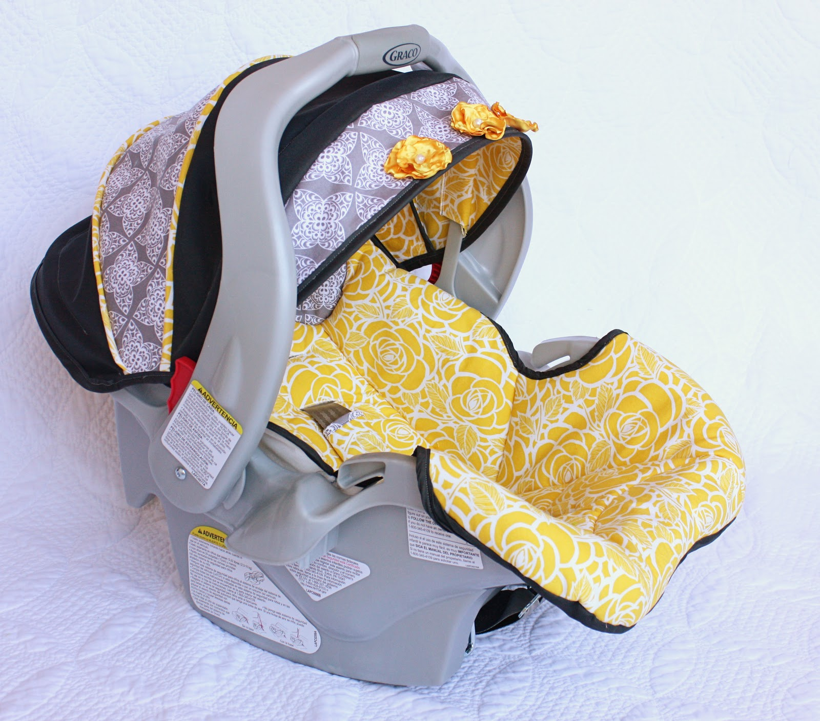 Make Your Own Infant Car Seat Covers