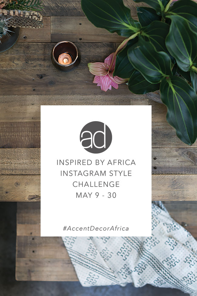Accent Decor Instagram Style Challenge