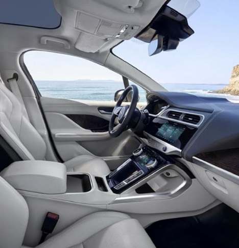 Design Interior New Jaguar I-Pace Electric car