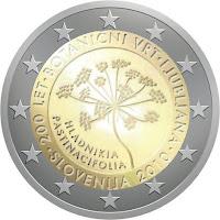 slovenia 2 euroa kolikko Ljubljana 2008