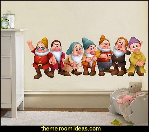 SEVEN 7 DWARVES Snow White Disney Decal WALL STICKER Home Decor