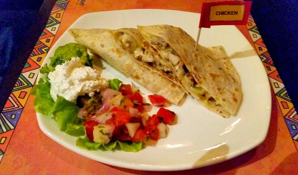Chicken Quesadilla Habanero
