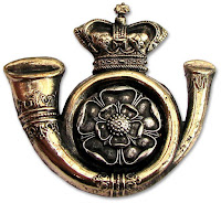 King's Own Yorkshire Light Infantry  cap badge - from WorldMilitary site