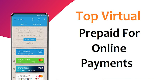 Best Virtual Prepaid MasterCard Online Payment for Working