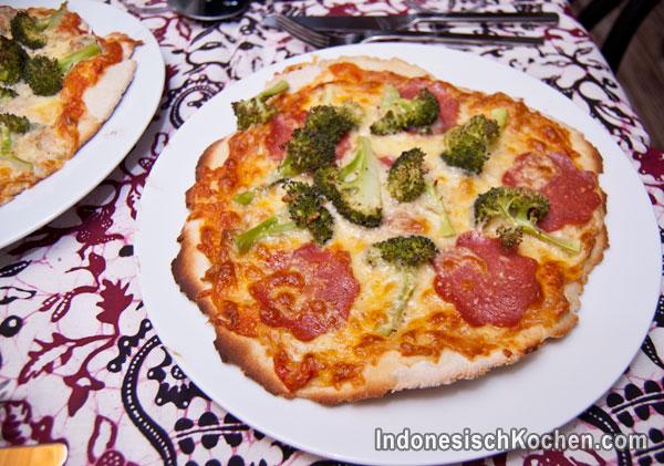 Pizza Sambal Oelek selber machen