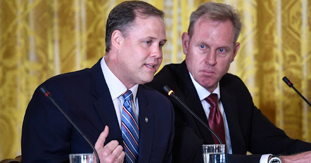 NASA Administrator Jim Bridenstine speaks during a meeting of the National Space Council in the East Room of the White House, Monday, June 18, 2018, in Washington. Chaired by the Vice President, the council's role is to advise the President regarding national space policy and strategy, and review the nation's long-range goals for space activities. Credits: NASA/Bill Ingalls