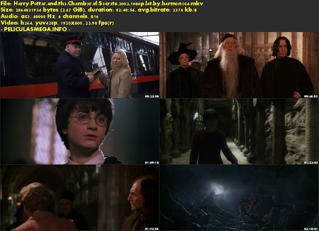 Descargar Harry Potter y la Cámara secreta Latino por MEGA.