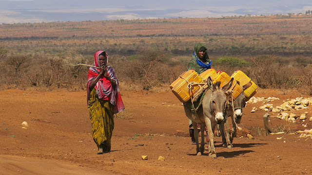 Searching for water in East Africa