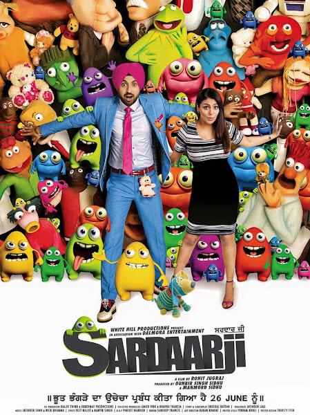 Poster of Sardaarji 2015 Full Movie In Hindi 720p HDRip ESubs Download