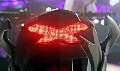 New 2016 Honda CB Hornet 160R Taillight HD Pics