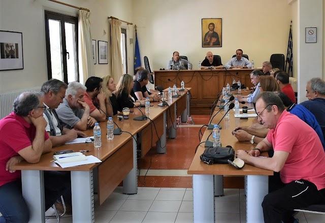Χρ. Σταϊκούρας: Σύσκεψη Εργασίας την περασμένη Παρασκευή στο Δήμο Μώλου - Αγίου Κωνσταντίνου