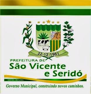 Justiça bloqueia contas da Prefeitura de São Vicente do Seridó