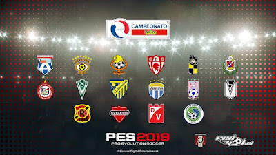 PES 2019 PS4 Option File Campeonato Loto Primera B Season 2018/2019