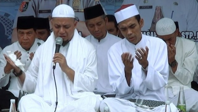 Akhirnya Terjawab, Ustaz Somad dan Ustaz Arifin Ilham Dukung Prabowo-Sandi
