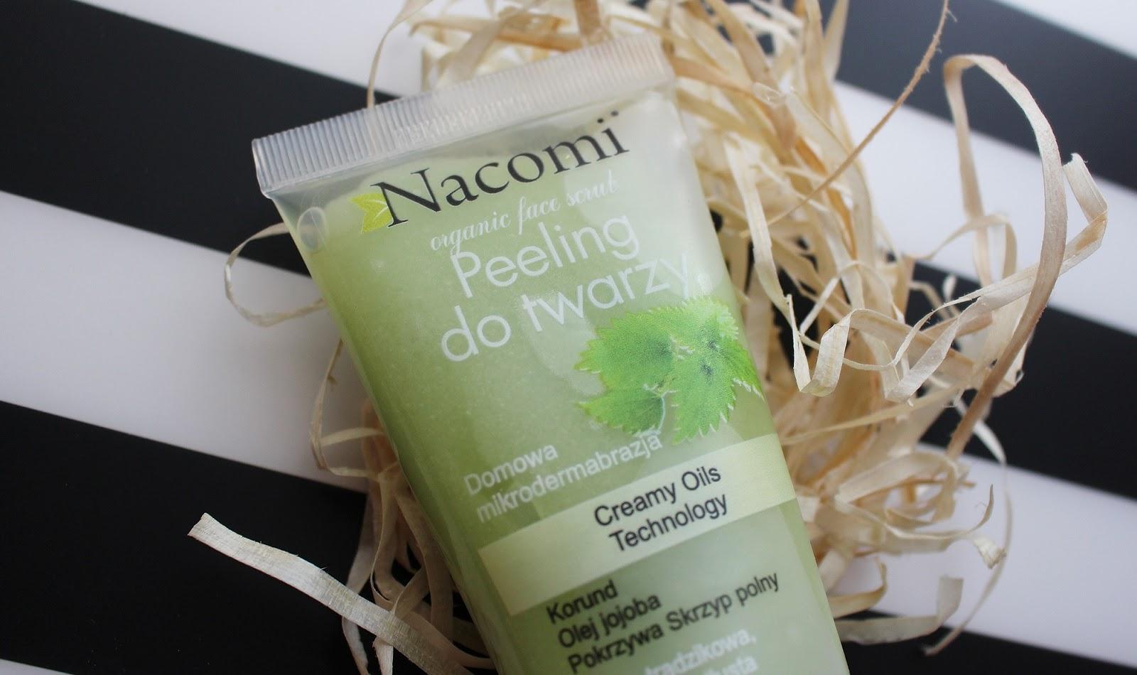 Peeling do twarzy Nacomi | domowa mikrodermabrazja