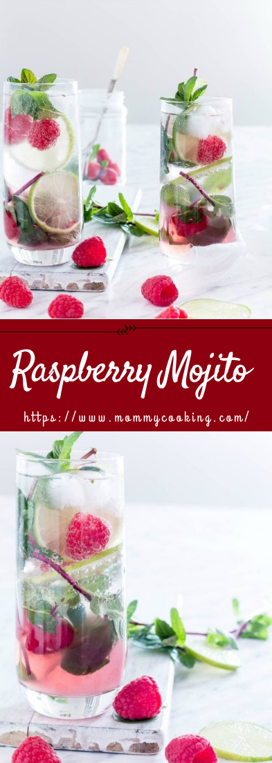Raspberry Mojito #rececocktail #raspberry