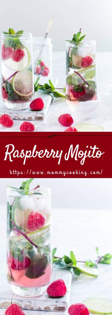 Raspberry Mojito #rececocktail #raspberry
