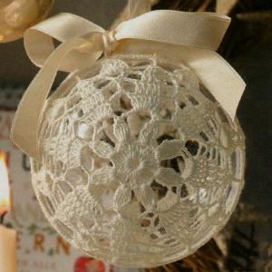 Preferenza Professione Donna: Speciale Natale: Pallina di Natale rivestita TJ81