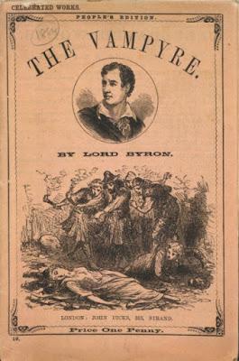 The Vampyre, nouvelle de John Polidori, qui créé l'archétype moderne du vampire