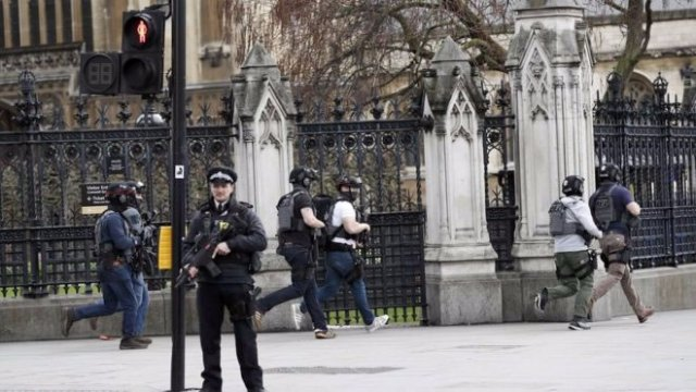 Terror attack at UK Parliament: Police officer 'stabbed'