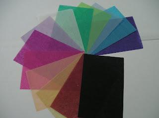 papeles seda colores