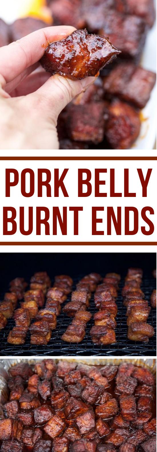 Smoked Pork Belly Burnt Ends #dinner #simpletomake