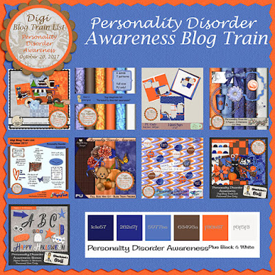 Digi Blog Train List Personality Disorder Awareness Freebie