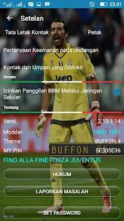 BBM Mod Buffon v2.13.1.14 Apk Terbaru 2016