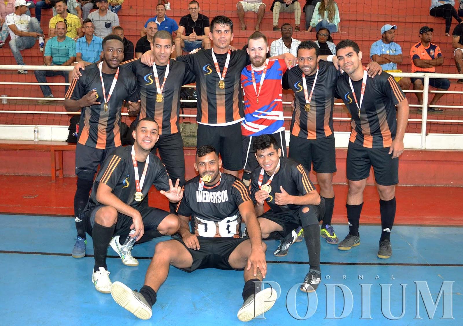 b1203361df Cooper Standard é campeã de futsal dos Jogos SESI