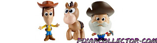 Toy Story 4 Mattel Minis 3-Packs Bo Peep Sheep Sharky Prospector Big Baby