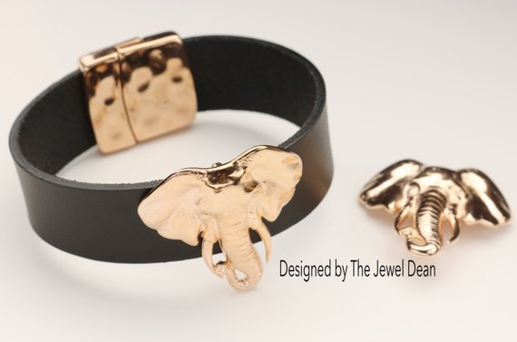 The Jewel Dean's Unusual Leather Jewelry Components for Stylish Bracelets