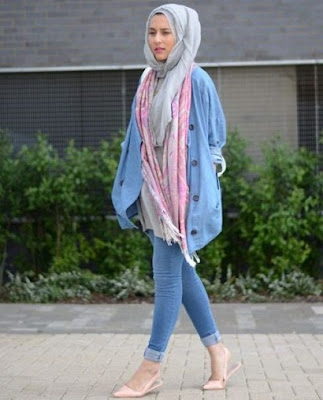 model fashion hijab casual remaja terbaru