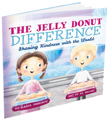 https://www.amazon.com/Jelly-Donut-Difference-Sharing-Kindness/dp/0997608501/ref=sr_1_1?ie=UTF8&qid=1486766240&sr=8-1&keywords=jelly+donut+difference