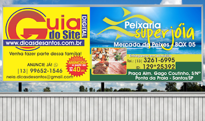 Outdoor do Anunciante Peixaria Jóia