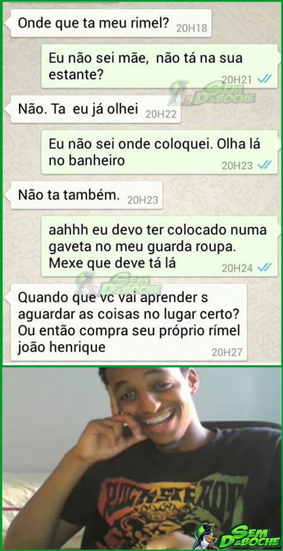 PARA DE MEXER NAS MINHAS COISAS