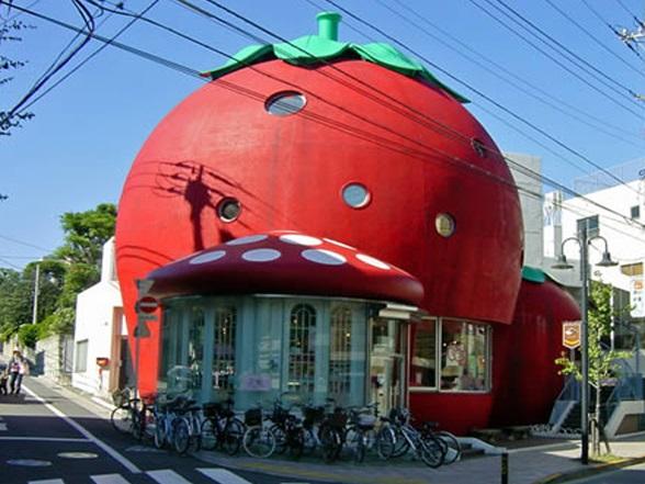 model buah dijadikan rumah