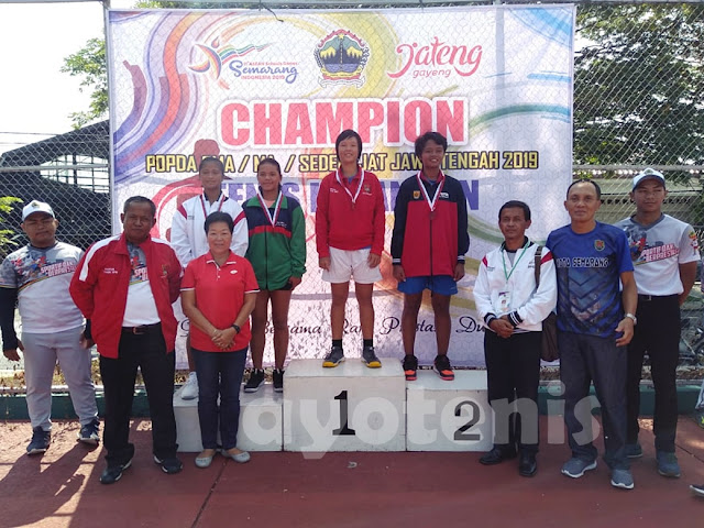 Jessica Christa Wirahadipoernomo Sabet Medali Emas POPDA Jateng 2019