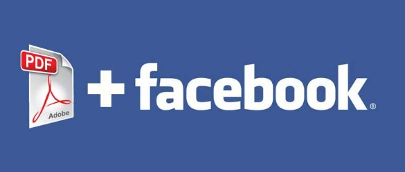how to upload a pdf to facebook