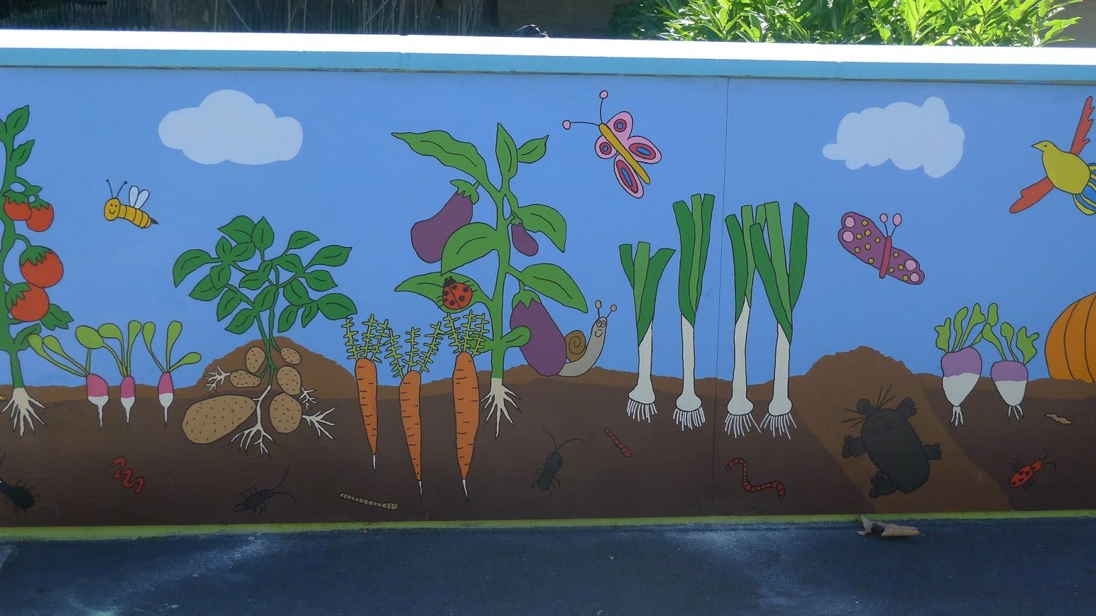 Excellent Les légumes ça poussent aussi sur les murs ! TA72