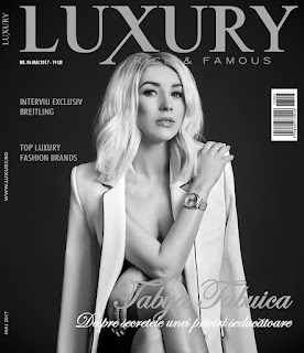 Ctents luxury tents in Luxury rich and famous magazine, Romania.