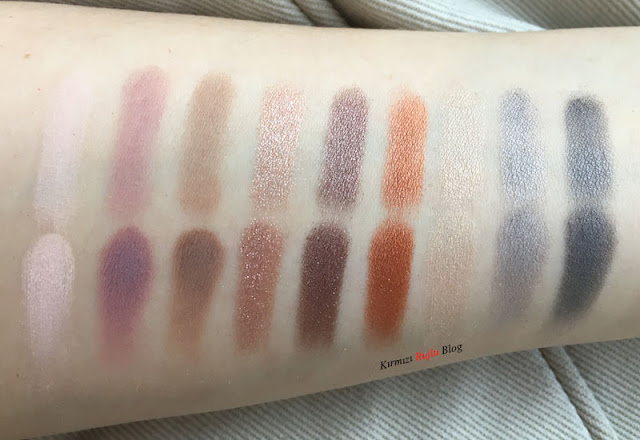 Appetit far paleti swatch