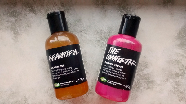 Lush Beautiful Shower Gel The Comforter Shower Cream