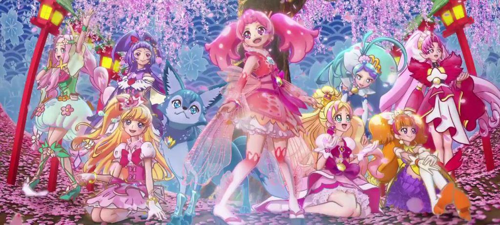 18.03.2017-Jepang  Pretty Cure Dream Stars!