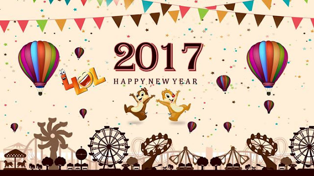 Happy New Year 2017 HD Wallpaper 2